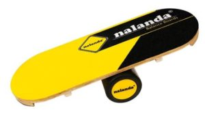 Nalanda Wooden Balance Trainer with Roller Stability