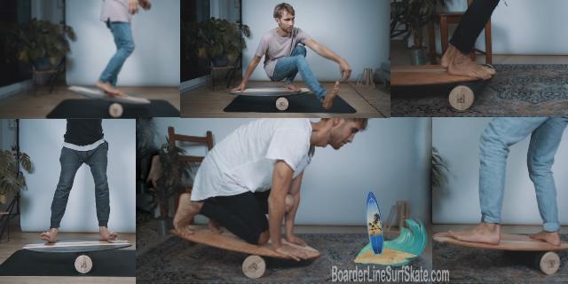 Surfing Balance Boards